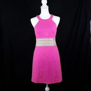 Lilly Pulitzer Pink Dress SZ 0 Sleevless.